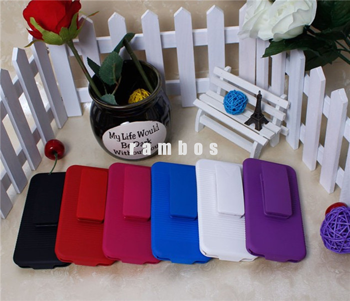 2015 Best Selling Products Belt Clip Stand Holder Holster Hard Cover Cell Phone Case for iPhone 5C