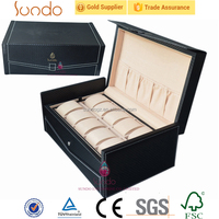 large leather watch case manufacturer in china