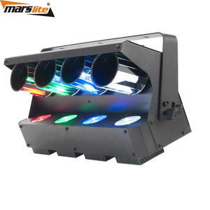 Entertainment Centers LED Quad Barrel Mirrors Zipper Roller Scanner Light