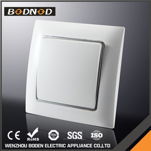 High Quality New Design 1 Gang 1-way european wall control switch