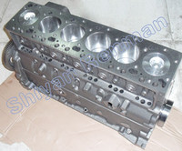 Marine engine cylinder block