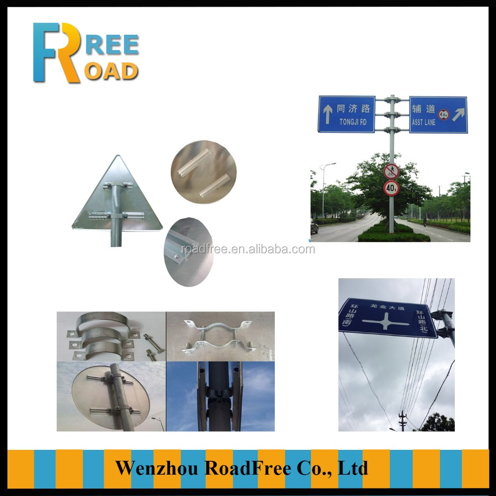 Custom made Aluminum Traffic Road signs,Highway reflective traffic signs,Factory price with all shapes