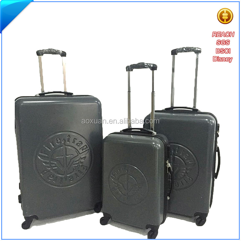 abs pc Aluminum Trolley travel carry on luggage set