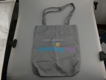 reusable foldable shopping bag with two handles