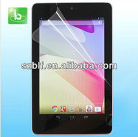 Hot New transparent screen protector for google nexus 7 II tablet pc