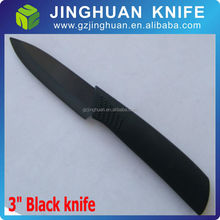 3 inch forever sharp black ceramic knife