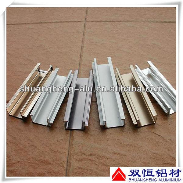 anodizado perfil de aluminio puerta corredera de cristal ferrocarril buy product on alibabacom