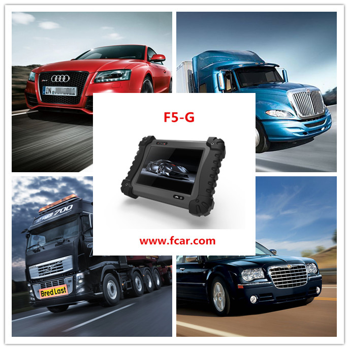 auto diagnostic scanner for all cars, heavy duty, trucks and machine diagnose FCAR F5 G SCAN TOOL
