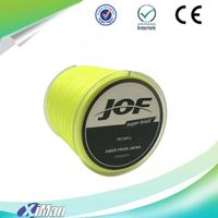 high strength 300m yellow Colour 100% fluorocarbon sports fishing line