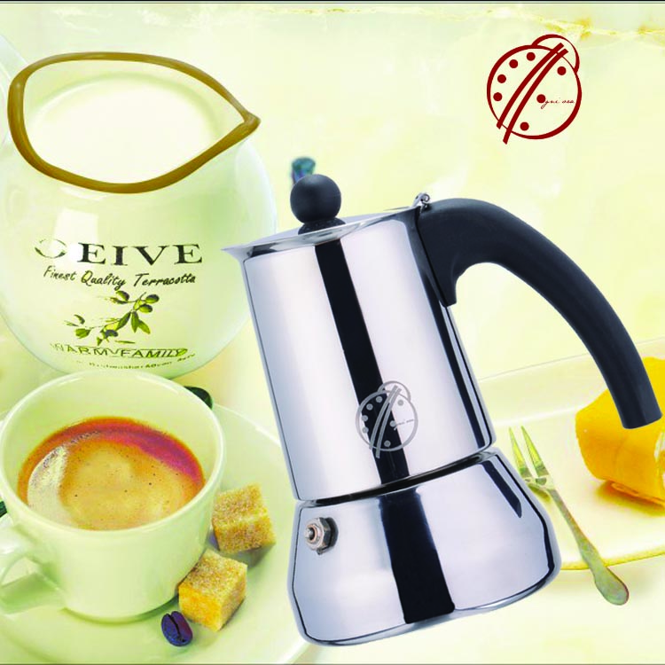 OGNIORA High Quality Stainless Steel Coffee Machine/Coffee Maker for Kimbo Coffee