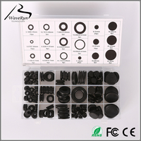 "SBR rubber hole plugs grommets 1/4"" blister packing"