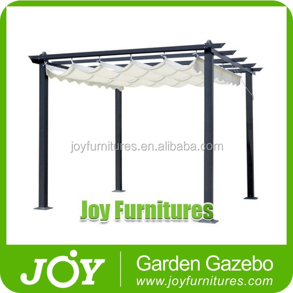 hot sale classical wrought iron aluminum gazebo pergola. Black Bedroom Furniture Sets. Home Design Ideas