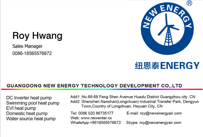 Cold Climate Use Air Source EVI Heat Pump for Commercial Central Heating Cooling Project