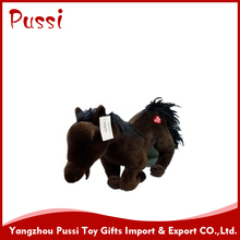 plush and stuffed custom animal horse ,large plush horse,hobbyhorse toys