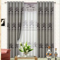 different styles of blackout conference room curtains