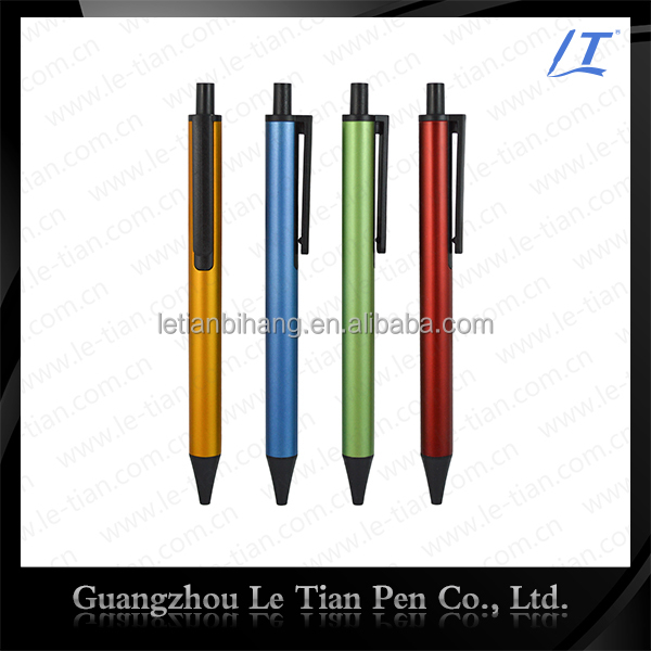 Promotional custom german marker push action pen manufacturers, free ball pen sample
