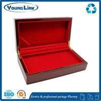 New design luxury wooden box with one drawer for wholesales