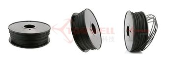 1.75 / 3mm 3D Conductive ABS plastic roll for Ultimaker and MakerBot 3D printer