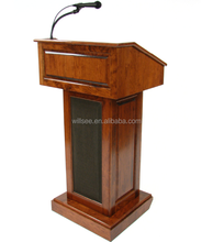 Lectern-008,Solid oak wood Church Lectern and Podiums