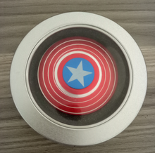 amazon hot sale metal Captain America Ironman Spiner Beyblade Rotating Top Adult Kids Toy