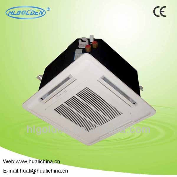 Olyair T1/t3 50hz/60hz Super Slim Four Way Cassette Fan Coil Unit Air Conditioner/on-off Available 48000btu