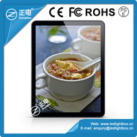 LED lightbox menu display system poster frame light box backlit board advertising lightbox display a3 photo frame