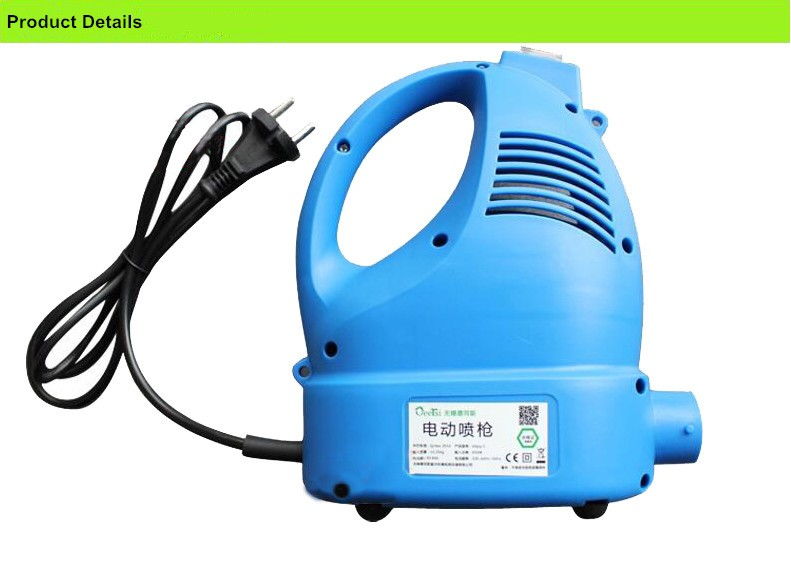 best price 220v 650w wall paint spray gun 800ml hvlp mini electric