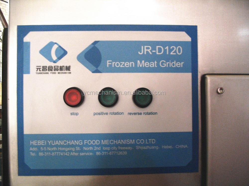 JR-120 Industrial Frozen Meat Grinder And Meat Mincer Grinder Machine