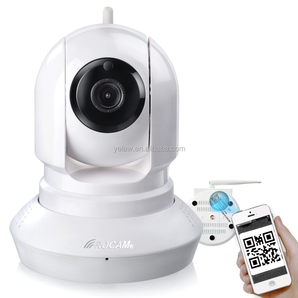NC500 Onvif IP Camera Speaker Microphone Support Online Video Checking