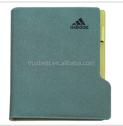 Top quality exercise note book , custom note pad book with pen