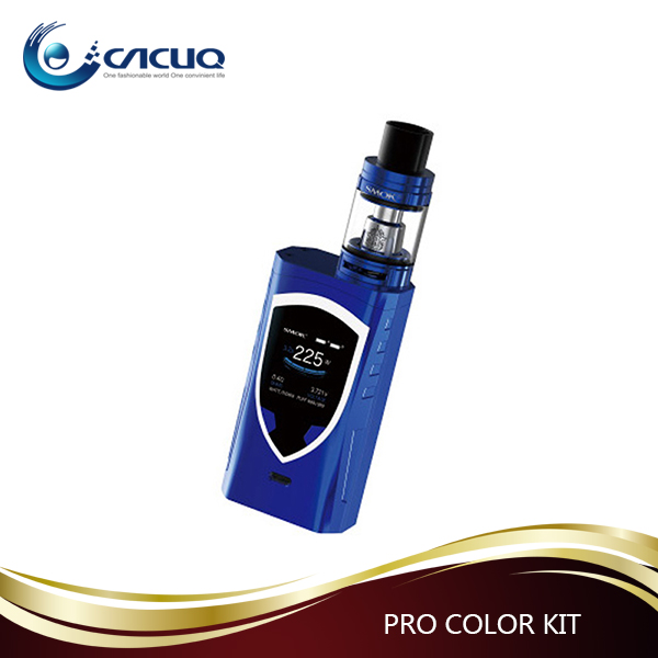 Wholesale Vaporizer 225W 2ml/ 5ml SMOK ProColor with Dual 18650 Battery