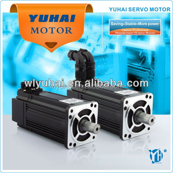 European hot sale 4N.m 1.0KW three phase ac servo motor