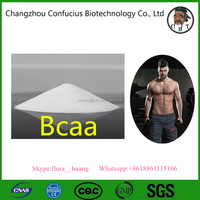 Branched-chain amino acid BCAA powder 2:1:1 usually used for pre-workout drink