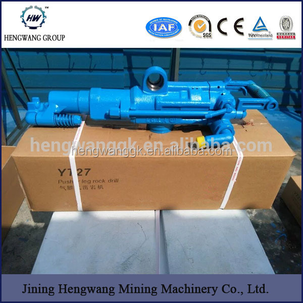 mining air rock drill/Air Leg pneumatic Rock Drill for sale YT28/YT20/YO18