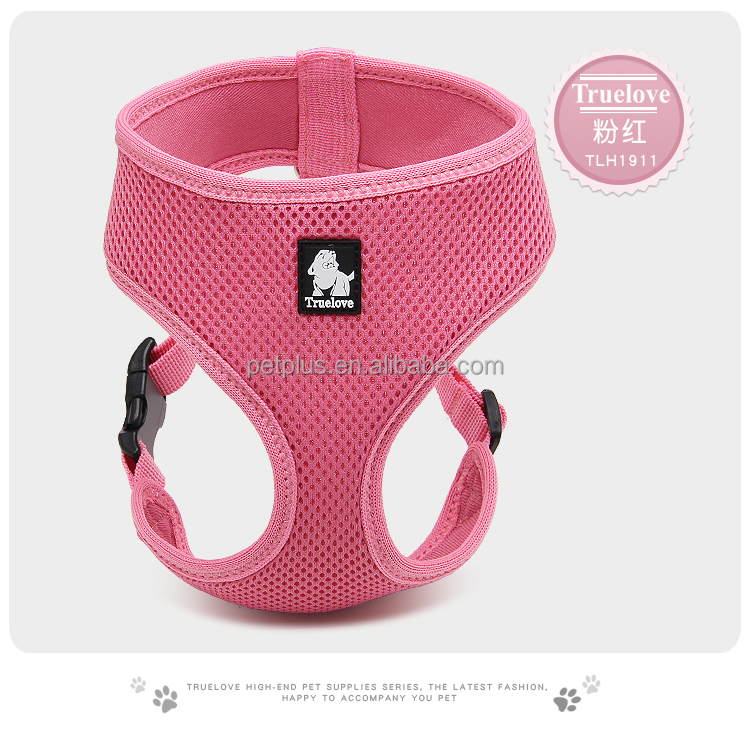 Truelove newly Breathable mesh sex woman with dog body pet harness
