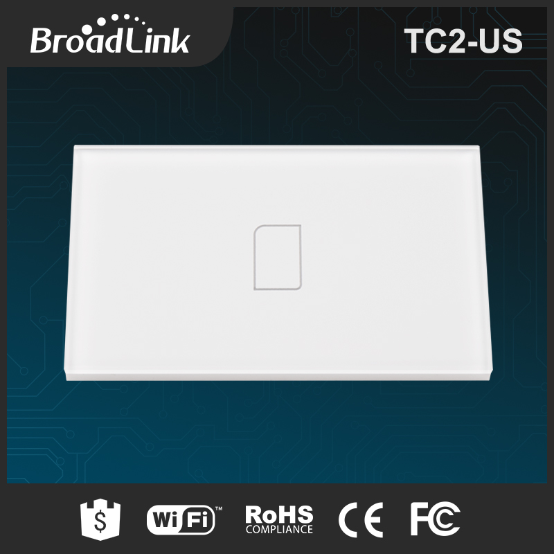 BroadLink TC2 US standard glass touch screen wall switch 3 gang