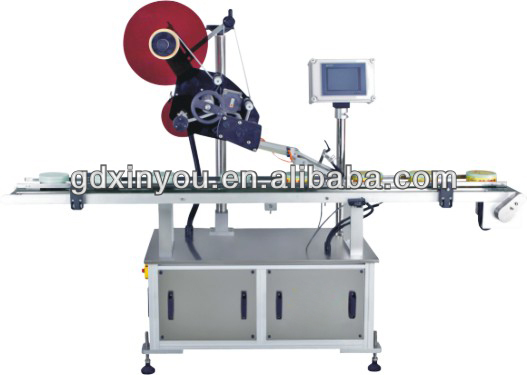Plane Automatic Labeling Machine With High Presision For Stationery Industry