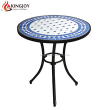 Outdoor Bistro Mosaic Table