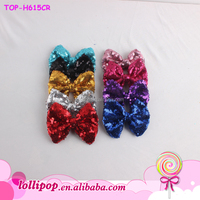 Fashion Baby Sequin bows for girls Headband Colorful Infant toddler Boutique Headbands