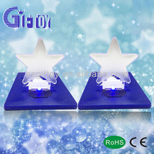 popular card light with star shape