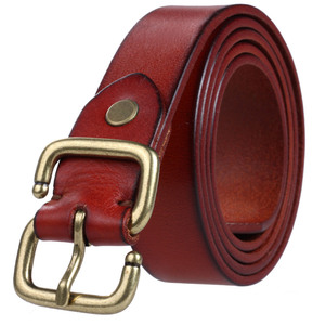 Western Style Fashion Men Belt With Full Grain Genuine Leather