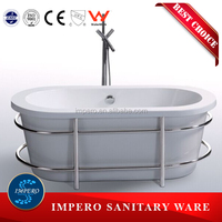 Freestanding cheap soaking acrylic oval bathtubs prices portable walk in bathtub