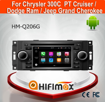 Hifimax Andriod 7.1 Car DVD Radio For 300C PT Cruiser/ Dodge Ram/Jeep Grand Cherokee Car Multimedia Player GPS With Canbus