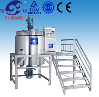 Yuxiang planetary mixer stainless steel mix tank industrial chemical mixer