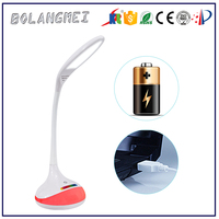 battery power/modern desk lamp parts of factory supplier