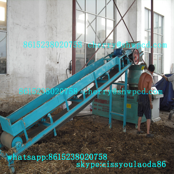 Water recycling cooling system cotton haulm briquette machine sawdust briquette machine biomass pellet machine