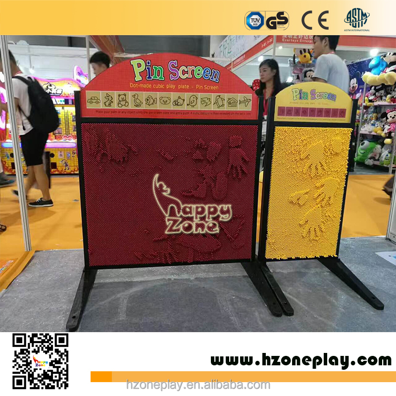 2017 hot selling Creative Educational Big Pin Screen Toys Interactive Play Toys for <strong>Kids</strong>