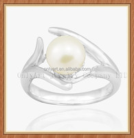 Fashion wedding ring jewelry making pearl jewelry sets design