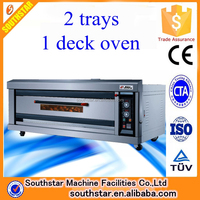 100% manufacturer wholesale commercial bread machine gas deck oven