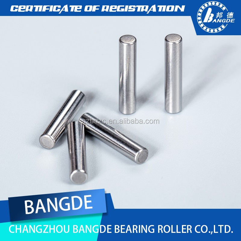 2.5*16.8mm China Customized spring dowel pins for short cylindrical roller bearing